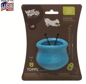 West Paw® Design Toppl Treat Toy L /интерактивна играчка за куче/-Ø10см