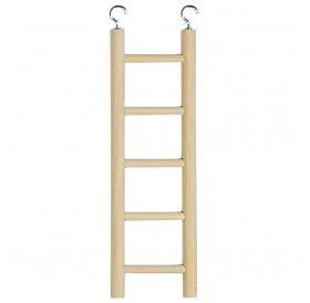Ferplast PA 4002 /дървена стълба за птички 5 стъпала/-7x22,8см