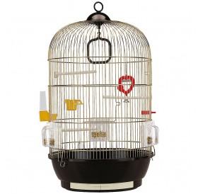 Ferplast Diva Brass /напълно оборудвана клетка за малки птички/-Ø40x65см
