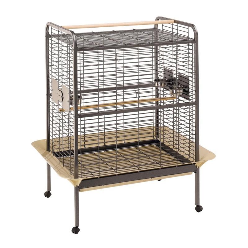 Ferplast Expert 100 /оборудвана клетка за голям папагал/-124,5x100x156см