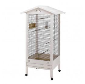 Ferplast Hemmy Wooden /оборудвана дървена волиера за птички/-84,5x65,5x165см