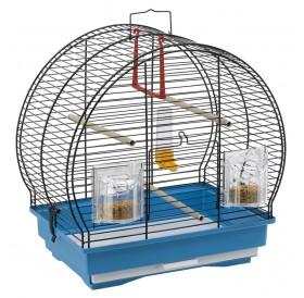 Ferplast Luna1 Black /напълно оборудвана клетка за малки птички/-40x23,5x38,5см