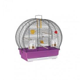 Ferplast Luna 2 Black /напълно оборудвана клетка за малки птички/-44,5x25x45,5см