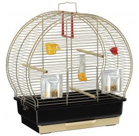 Ferplast Luna 2 Brass /напълно оборудвана клетка за малки птички/-44,5x25x45,5см