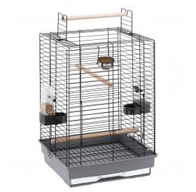 Ferplast Max 4 /напълно оборудвана клетка за средни и големи папагали/-50x50x75см