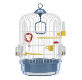 Ferplast Regina White /напълно оборудвана клетка за малки птички/-Ø32,5x49см