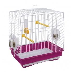Ferplast Rekord 1 White /напълно оборудвана клетка за малки птички/-35,5x24,7x37см
