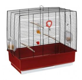 Ferplast Rekord 4 Black /напълно оборудвана клетка за малки птички/-60x32,5x57,5см