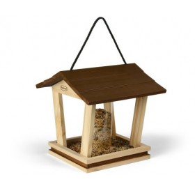 Padovan Bird Feeder F1 /Външна Дървена Хранилка За Птички/-24х25,5х24см