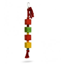 Padovan Bird Toy T5 /Дървена Играчка За Папагали/-4х42см