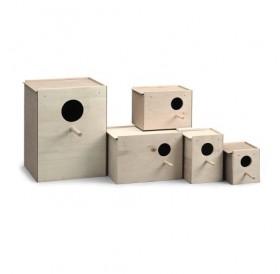 Padovan® Nido Legno L1 /къщичка гнездилка за декоративни птички/-12x11x11,5см