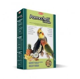 Padovan® GrandMix Parrocchetti /пълноценна храна за средни папагали/-400гр