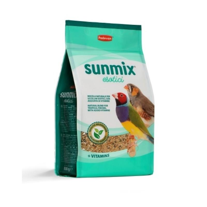 Padovan® Sunmix® Esotici /пълноценна храна за екзотични и тропически птички/-850гр