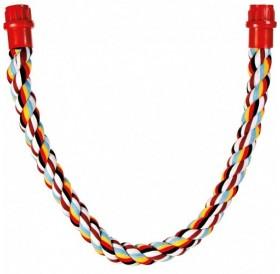 Trixie Rope Perch /въжена кацалка за големи папагали/-Ø3x75см