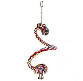 Trixie Spiral Rope Perch /играчка за папагали спирала от въже/-50см