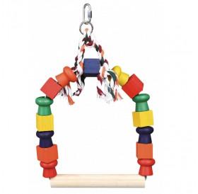 Trixie Arch Swing /Люлка За Средни Папагали И Птички/-20x29см