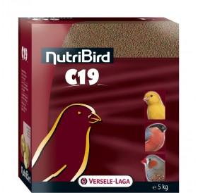 Versele-Laga NutriBird C19 Breeding /Пълноценна Екструдирана Храна За Канарчета И Финки/-5кг