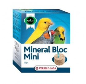 Versele-Laga Orlux Mineral Bloc Mini /минерално блокче за канарчета, финки и вълнисти папагали/-70гр