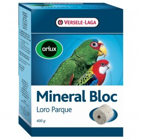 Versele-Laga Orlux Mineral Block Loro Parque /минерален микс за средни папагали/-400гр