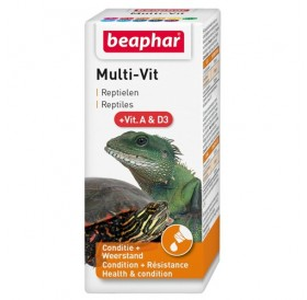 Beaphar Multi Vit /течни витамини за костенурки/-20мл