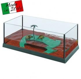 Ferplast Haiti 50 /стъклен аквариум за костенурки/-51,5x27x18,5см