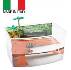 Georplast Tortuga Mini /пластмасов аквариум за водни костенурки/-27x19x15см