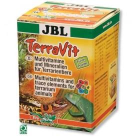 JBL TerraVit Powder /мултивитамини и микроелементи в прахообразна форма за терариумни животни/-100гр