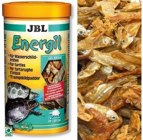 JBL Energil /сушени рибки и скариди за водни костенурки/-1л