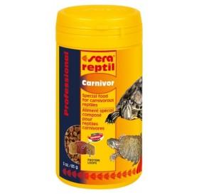 Sera Reptil Professional Carnivor /ко-екструдирана храна за месоядни влечуги/-250мл