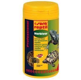 Sera Reptil Professional Herbivor /ко-екструдирана храна за растителноядни влечуги като сухоземни костенурки и игуани/-1л