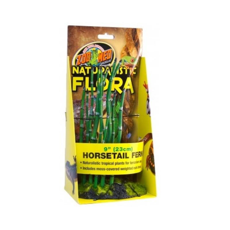 Zoo Med Horsetail Fern /терариумно растение с тежка основа и мъх/